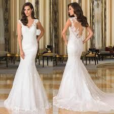 fitted wedding dresses justin alexande mermaid fitted wedding dresses v neck