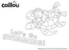 caillou coloring sheet u2013 movie night caillou coloring fun