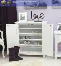 hampton painted shoe cupboard cwr20a