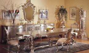 italian dining room sets classic italian mahogany dining room set with antique wall mirror