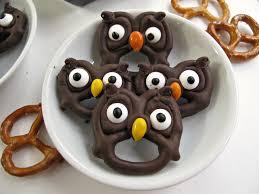 halloween owl halloween pretzels easy fast and fun the monday box