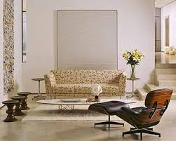 herman miller eames lounge chair and ottoman new leather with