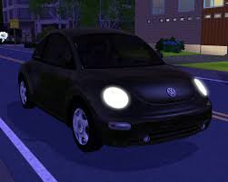 pink punch buggy car fresh prince creations sims 3 2003 volkswagen new beetle
