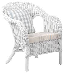 White Wicker Armchair White Wicker Chair Penncoremedia Com