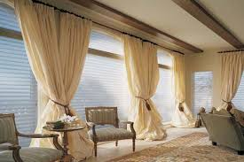 Window Drapes And Curtains Ideas Bay Window Treatment Ideas Window Treatments For Large Windows