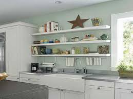 Thick Wood Floating Shelves by Kitchen Perfect White Floating Kitchen Shelves Storage Glass