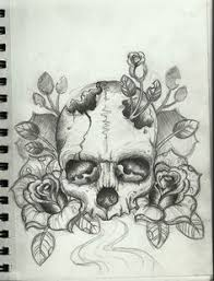 skull and roses nick davis artist 224 card deck
