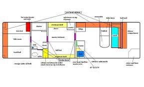 school bus conversion floor plans 7 free floor plans for school bus to tiny home conversions