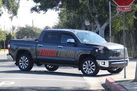 all toyota 2018 toyota tundra refresh spied