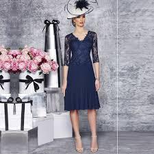 Navy Blue Lace Dress Plus Size Aliexpress Com Buy 2016 Plus Size Navy Blue Mother Of The Bride