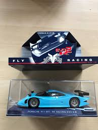 fly porsche 911 gt1 98 racing evo 3 fly 114 porsche 911 gt1 98