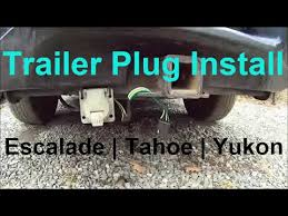 trailer plug wiring escalade tahoe yukon 7 pin u0026 4 pin how