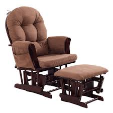Toddler Chair And Ottoman Set by Baby Nursery Rocking Chair With Adjustable Backrest Ottoman