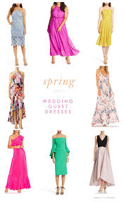 Colors Of Spring 2017 Beautiful Dresses To Wear As A Wedding Guest In Spring 2017