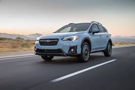 red subaru crosstrek subaru crosstrek 2018 motor trend suv of the year finalist