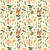 vintage christmas paper retro christmas fabric wallpaper gift wrap spoonflower