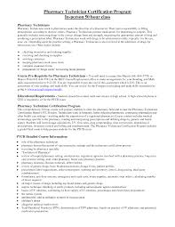 Cvs Pharmacy Resume Cover Letter Pharmacy Technician Objective For Resume Objective