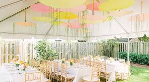 yellow baby shower ideas pink and yellow garden baby shower