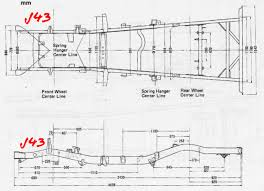 lexus lx 570 dimensions fj43 frame from fj40 please advise ih8mud forum