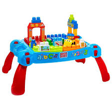 mega bloks first builders table mega bloks first builders build n learn table dch98 fisher price