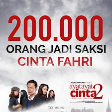 ayat ayat cinta 2 trailer tayang film ayat ayat cinta 2 raih 200 ribu penonton