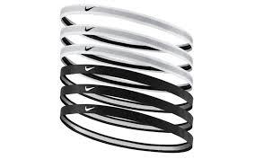 headband sport nike swoosh sport black and white headband aw lab
