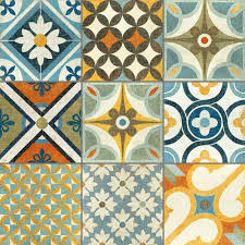 Moroccan Pattern Art Moroccan Wall by Mosaic Tapas Patchwork Tiles From The Reclaimed Tile Company