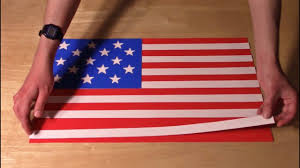 Flag With Four Red Stars History Of The U S Flag In Paper Youtube