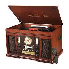 amazon black friday cd players amazon com victrola nostalgic aviator wood 7 in 1 bluetooth