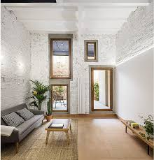 traditional style house transformed into a modern home in barcelona
