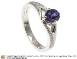 chagne engagement ring kims colour change sapphire and engagement ring