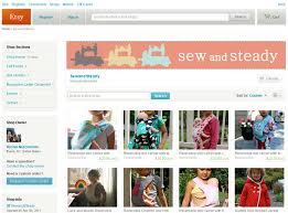 design clothes etsy web banner for sew and steady on etsy camilo graphics and web