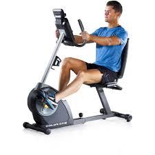 Armchair Exercise Bike Gold U0027s Gym Cycle Trainer 400r Recumbent Exercise Bike Walmart Com
