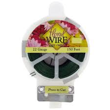 floral wire green easy cut green floral wire hobby lobby 4987