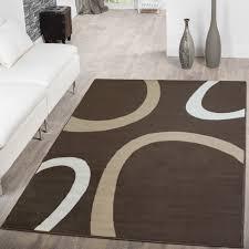 Teppich Schlafzimmer Beige Teppich Modern Wohnzimmer Designer Abstrakt Geometrisches Muster