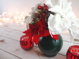 make your own christmas floral centerpiece u2014 crafts with sass