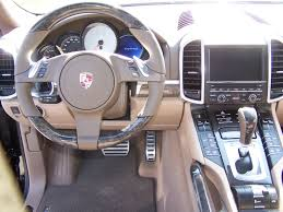 porsche cayenne interior porsche umber and tartufo leather interior with anthracite birch