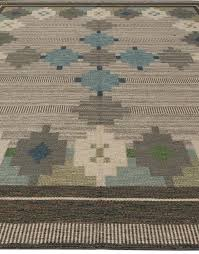Flat Woven Rugs Vintage Swedish Flat Weave Rug By Ulla Parkdahj At 1stdibs
