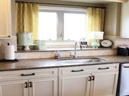 kitchen window curtains designs stylish kitchen window treatment countertops backsplash modern