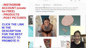 how i make 242 per day on instagram with cpa products youtube