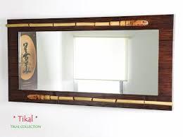 rattan schlafzimmer bambus wandspiegel tikal bambusmöbel für dein schlafzimmer