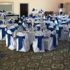 blue and white table ls party linens 42 photos party equipment rentals 10232 south ave