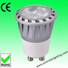 everstar 3w 220v 220lm diameter 35mm gu10 mr11 led spot light