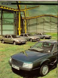 renault 25 тест renault 25 gtx ford sierra 2 3 saab 900i и vauxhall carlton