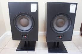 palladium p 39f home theater system rare nice u2021 klipsch kg2 2 way stereo bookshelf speakers matched