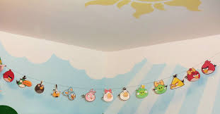 mobile home mommy angry birds garland and christmas tree