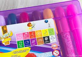 sketch scented twistable crayons