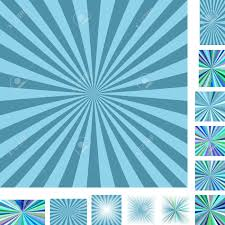 blue pattern background html retro light blue vector ray burst design background set different
