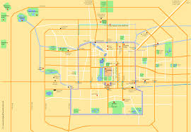 Beijing China Map by Beijing City Maps China Trekking Guide Route Map Photo
