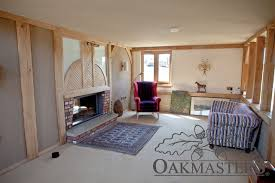 organic oak barn in sussex oakmasters